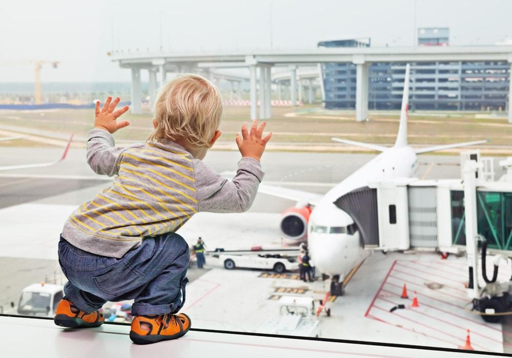 viajando com crianças baby